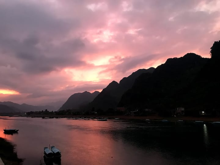 Phong Nha Coco Riverside-Cozy Deluxe, River view