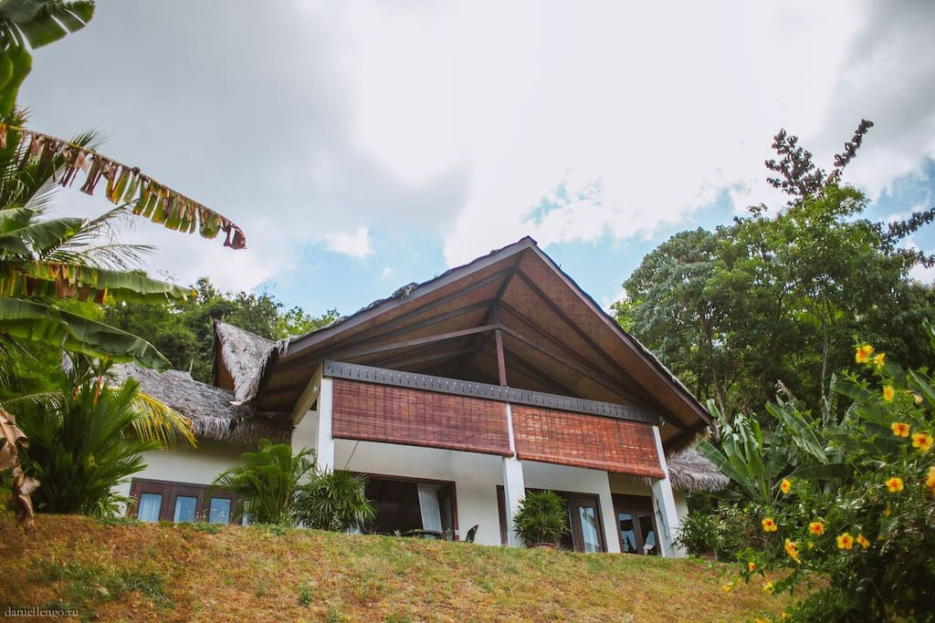 Minang Villa with traditional Malay features @ Alamanda Villas Langkawi
