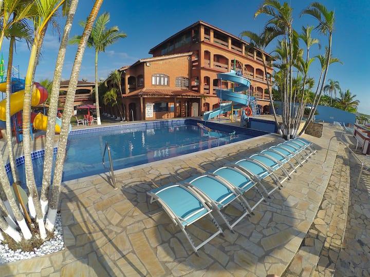 Hotel Marazul - Econômico e com vista para o mar.