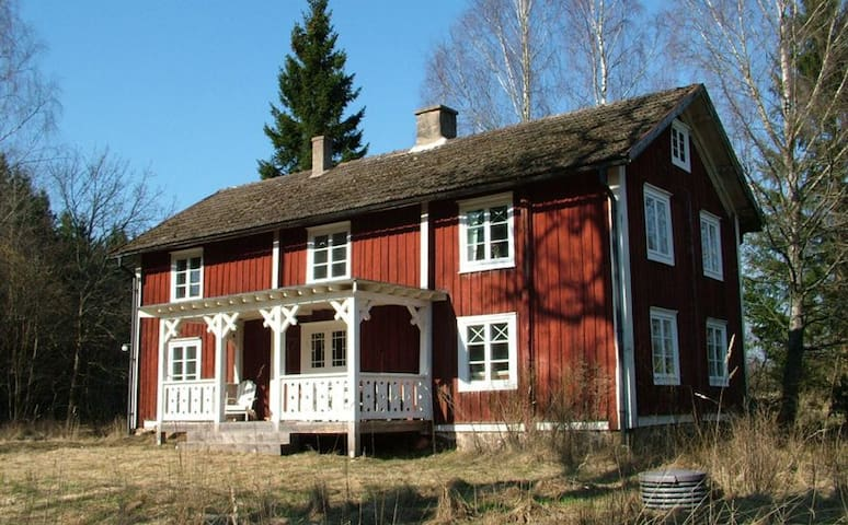 Romantic Swedish Country House. - Tingsryd SV - Dom