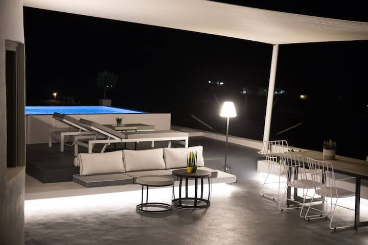 R 252 Master Suite with Private Pool, Sea View Including Breakfast Outdoor Jacuzzi