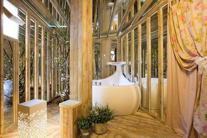 Bomunworld (private whirlpool spas) - Gyeongju-si - Pension (Korea)