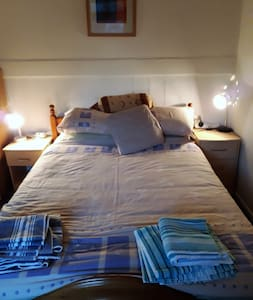 Comfy room in Swanage beauty treatments available.