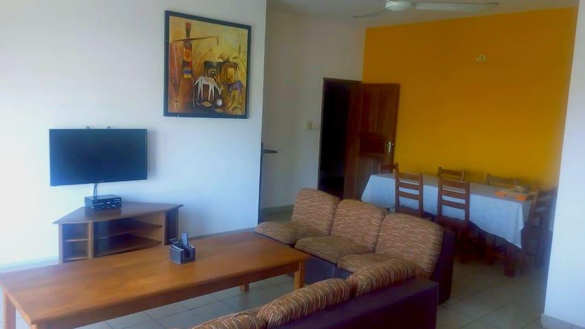 Appart 1 avec balcon VUE SUR MER - Cotonou - Apartamento