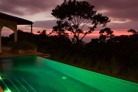 Oceanview Luxury Villa-Quiet Sunset - Ojochal