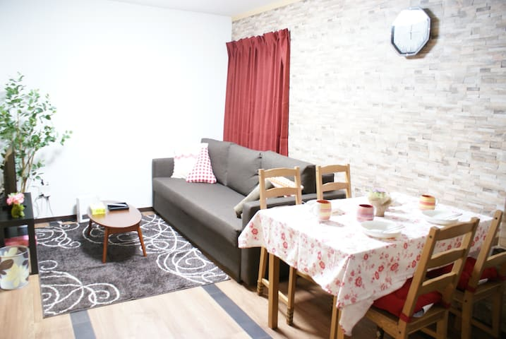 Usagi House 1F☆5mins away Sta Osaka 3Bd for 4ppl. - Ōsaka-shi - Talo