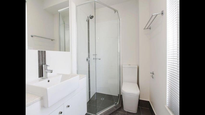 Bedroom with ensuite in  Port Adelaide Townhouse
