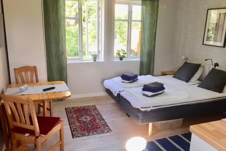 Fräsch och trivsam 1a med kök, centralt i Visby