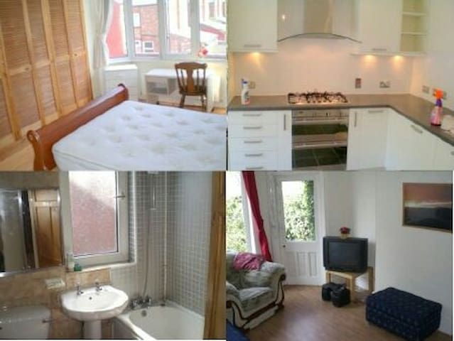 Nice room suit 1 person - Manchester - Casa