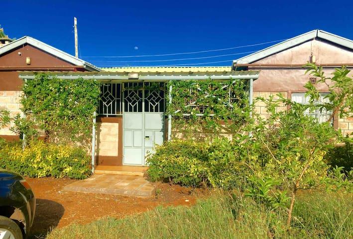 Fully furnished farm house with plenty of sunshine