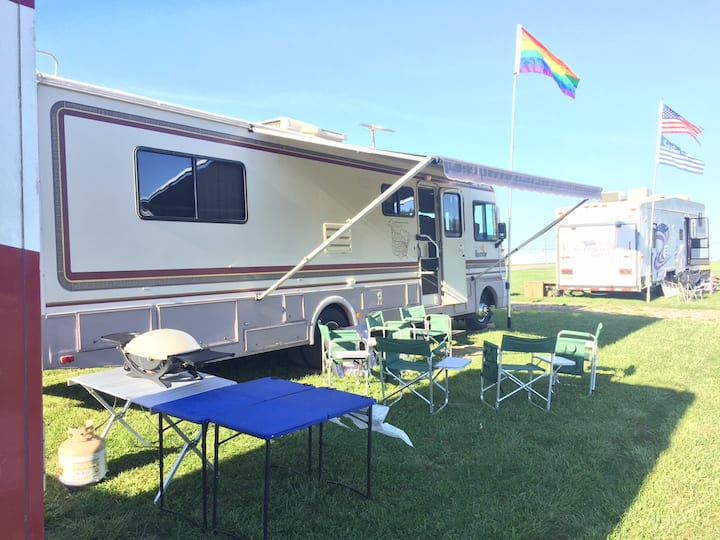 RV for PSU Football with Overnight Lot RV Parking!