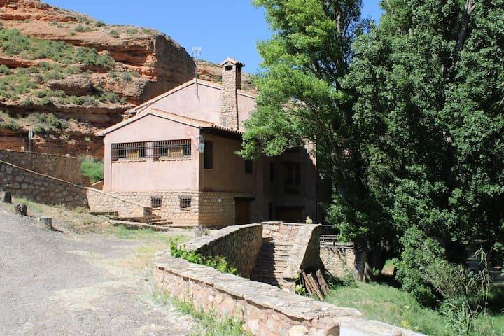 Molino restaurado como vivienda