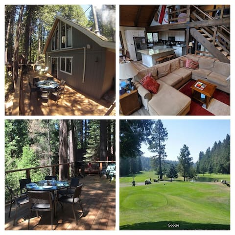 Updated Cabin, Stocked for Family Fun, Walk 2 Golf