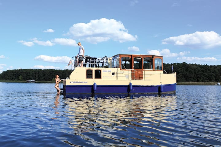 Hausboot Kormoran 940
