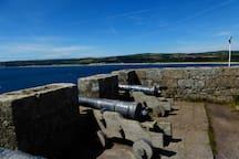 View towards Longrock.