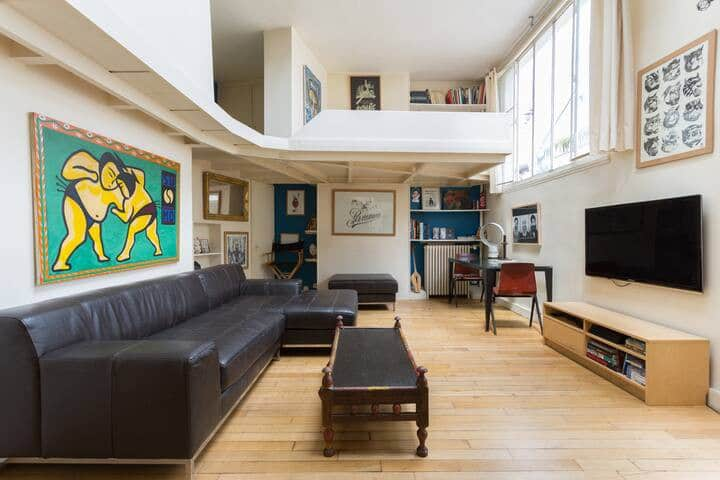 Loft in middle of pigalle