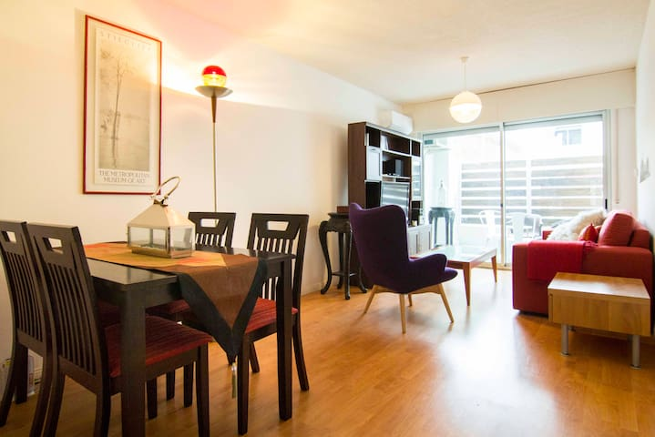 Free wifi! Modern, excellent and safe location! - Montevideo - Daire
