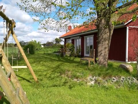 Urlaub mit Schleiblick: Das Lindhus in Grödersby