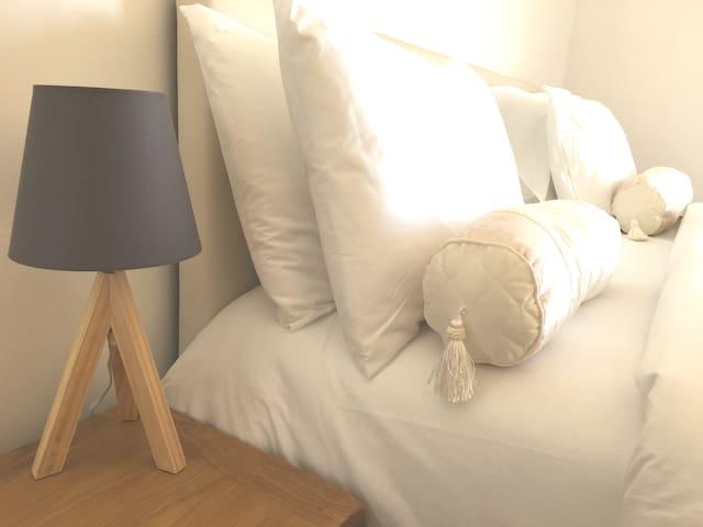 Very Big & Super Comfy Californian King Bed