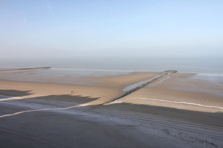 Großzügige Fewo -Nordseeblick- Strandpromenade- - Middelkerke - Apartamento