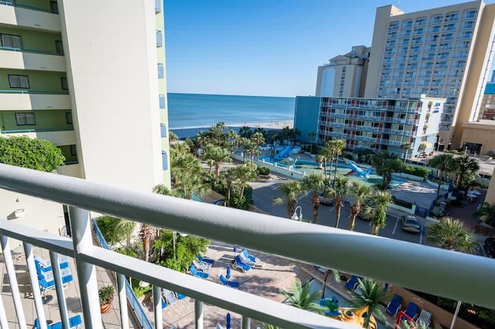 ⭐ Breathtaking Ocean View Condo at Coral Beach Resort