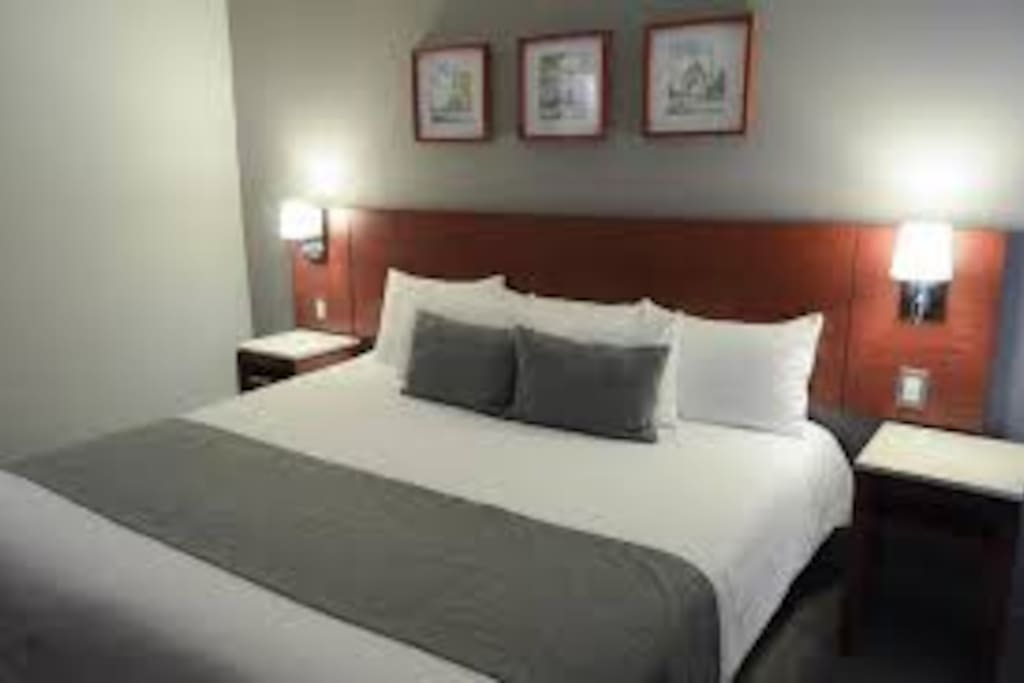 Each room has a working desk,comfortable arm-chairs,  A/C, private bathroom.