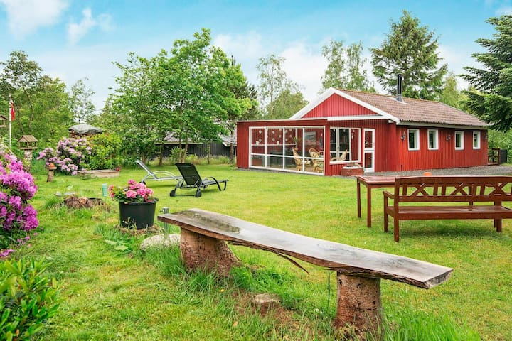 Quiet Holiday Home in Jutland with a Whirlpool