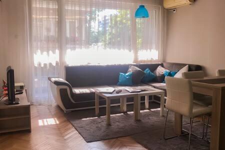 Stylish modern sunny apartment - near City center