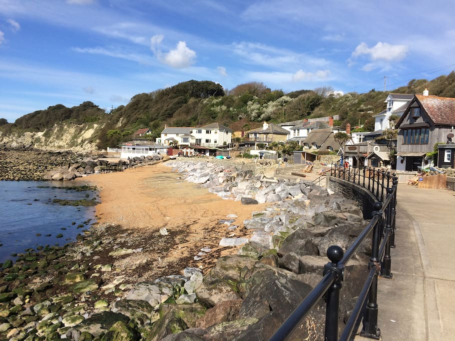 Steephill Cove, a 20 minute walk , but worth every step