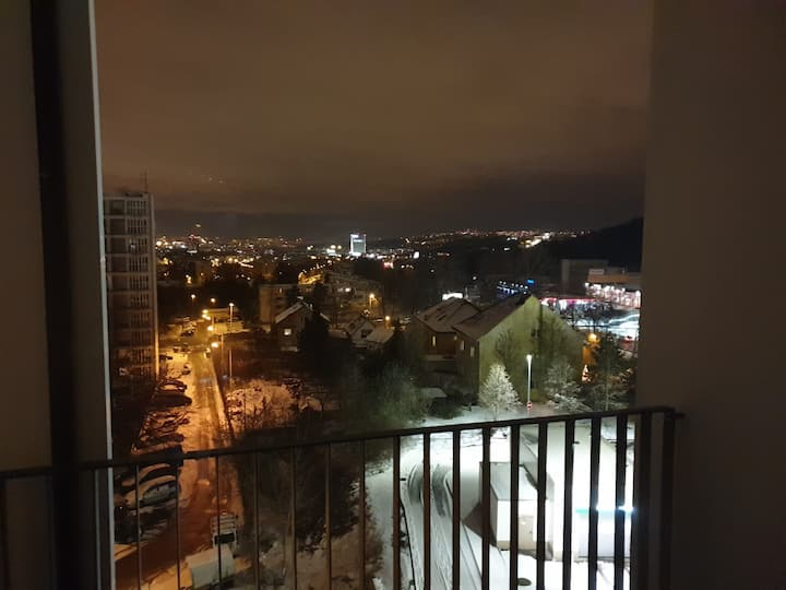 Nový byt 2kk | 5min na metro B | Tichý a čistý