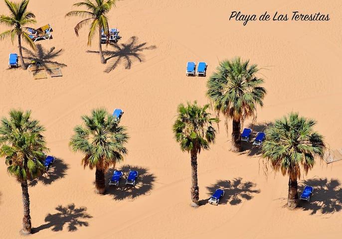 Ático playa Las Teresitas