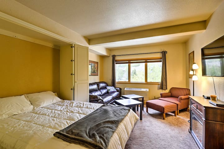 Studio w/ Luxury Pool - Walk to Keystone Village!