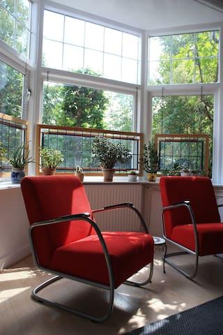 Zon in de woonkamer / Sun shining in the living room