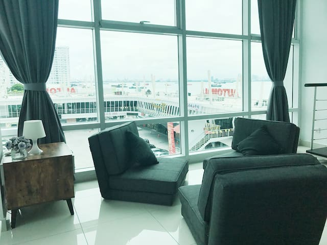 Seafront Ensuite Penang Georgetown - George Town - Condo