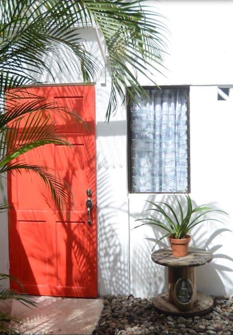 Private entrance to the studio loft!!