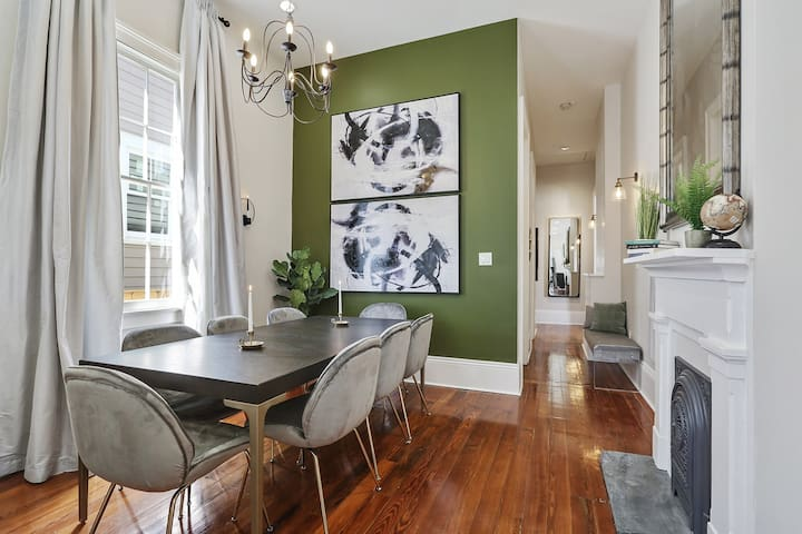 Emerald Oasis-Heart of city | near FQ and Bywater