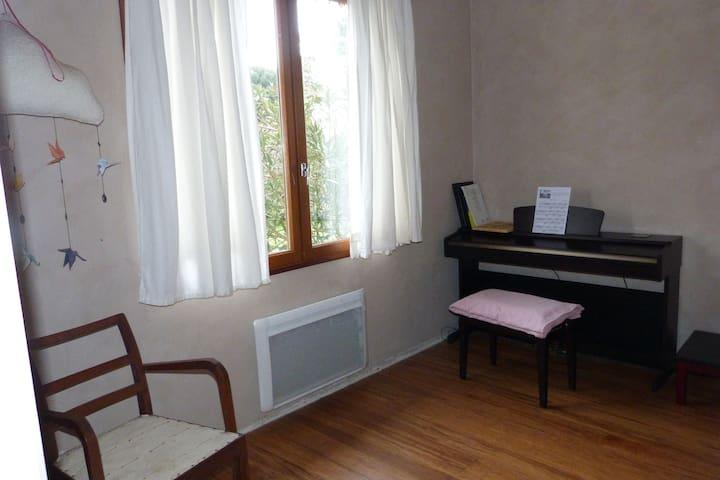 Chambre avec salle de bain privative - Magescq - Casa