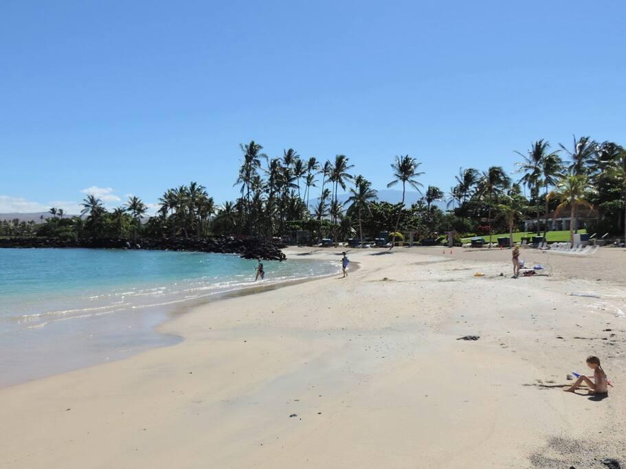 Mauna Lani Private Beach Club - Free Pass Included