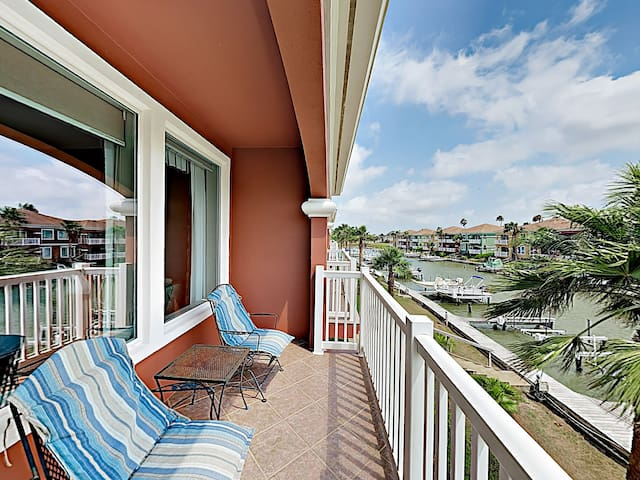Secluded Waterfront Townhome w/ Pools & Patio!