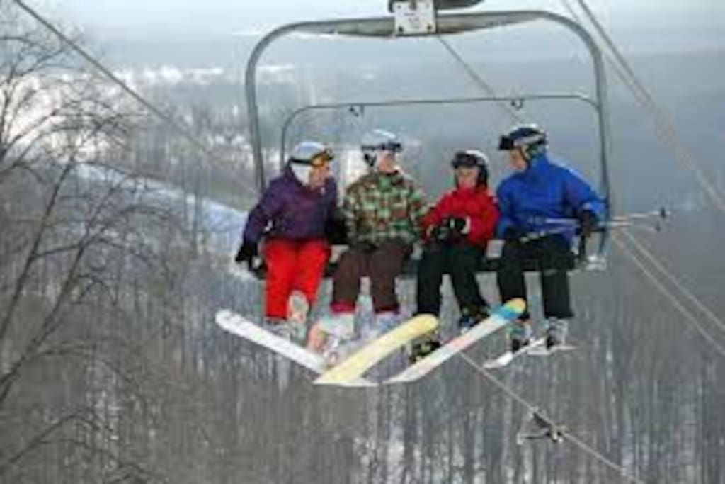 Multple Skiiing options - downhill - cross country - snow boarding etc.
