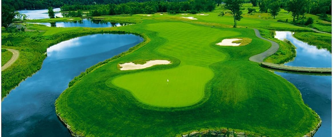 Incredible golf courses...