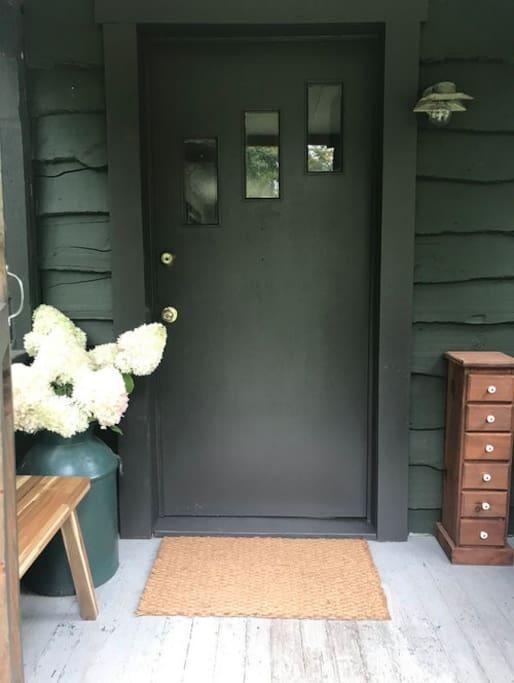 Your front door ...