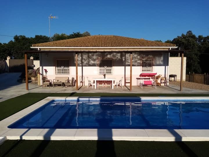 """""""Villa Pepucho""""Casa con piscina de agua salada (1)"""