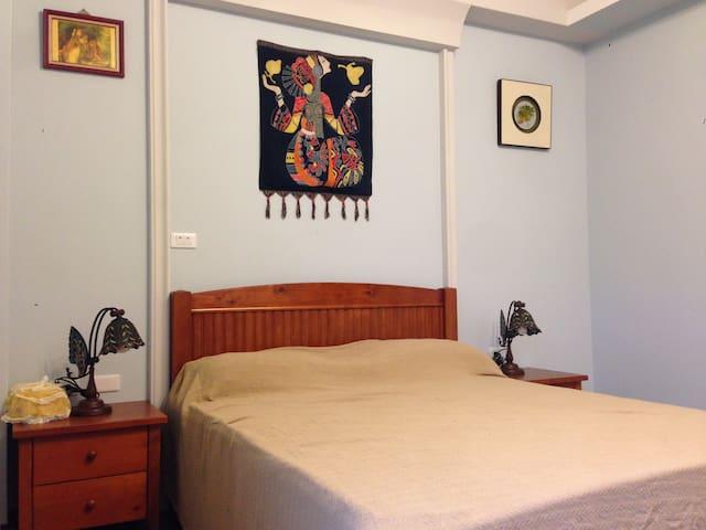 給旅行者一個溫馨、鄉村、安全的居所。 - Nantou City - House