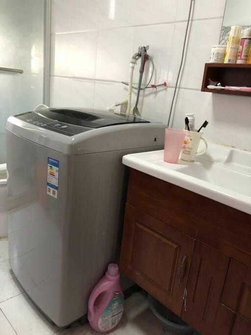 洗衣机,盥洗台