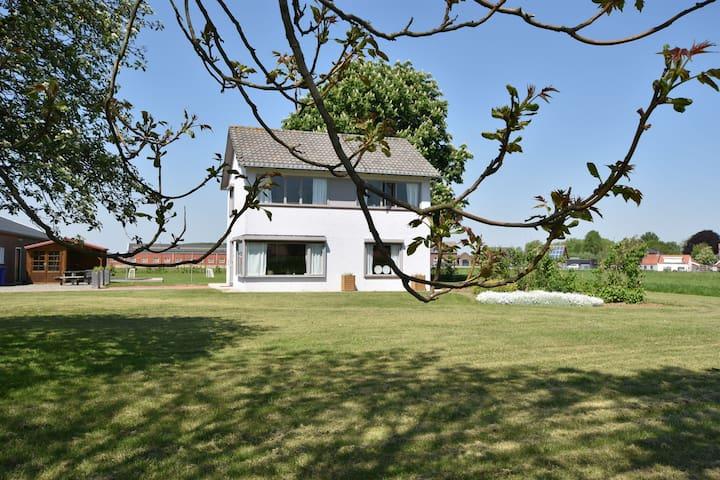 Peaceful Villa with Garden, Balcony, Basement, Football Goal