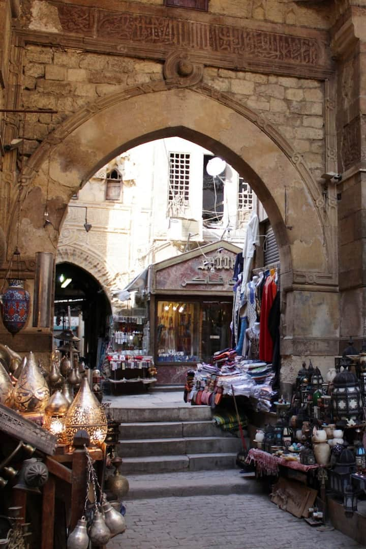 Bazars at Khan El Khalili