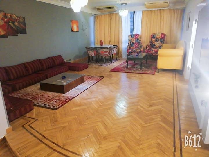 Maadi nile view apartment