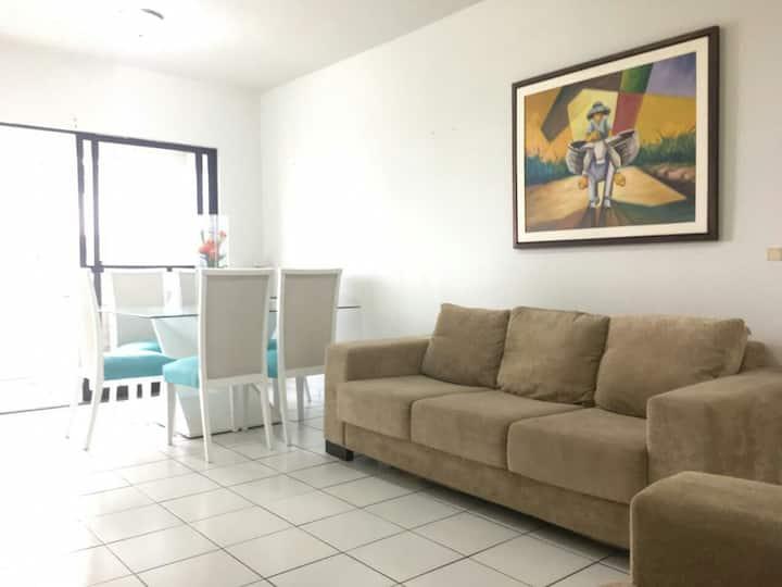 Ambiente clean e confortável no melhor de Olinda