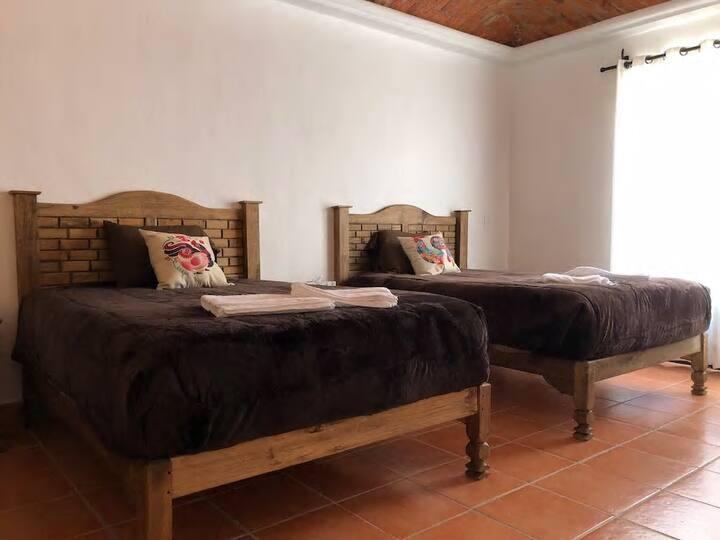 Apartment No. 5, near the Sanctuary of Atotonilco.